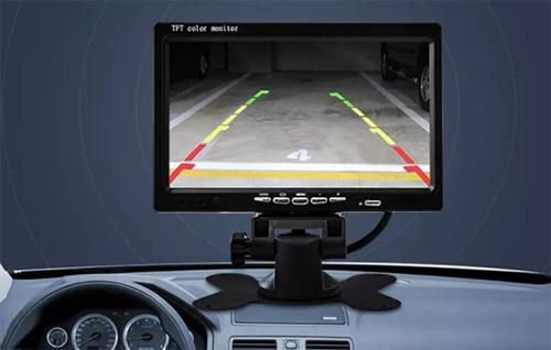 让驾驶员通过显示屏可以直观地看到车周围360度全景俯视图,不再有视野